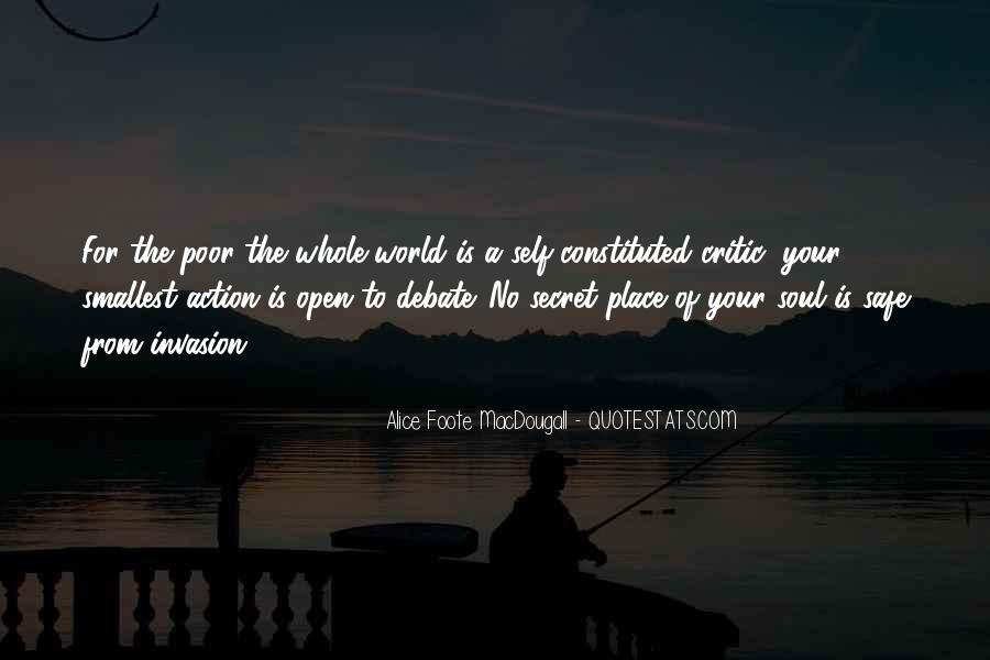 I Would Rather Be Poor Quotes #6889