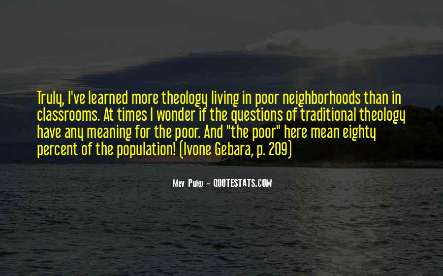 I Would Rather Be Poor Quotes #6902