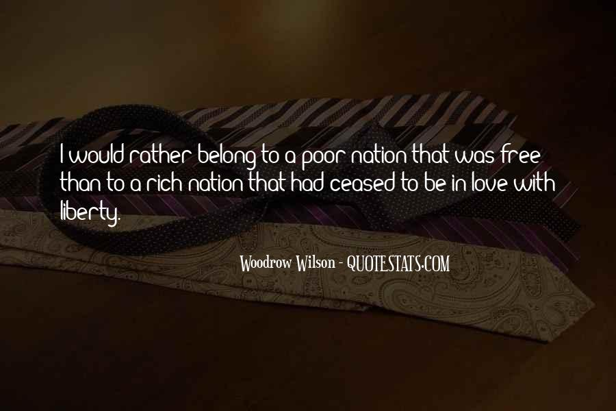 I Would Rather Be Poor Quotes #798589