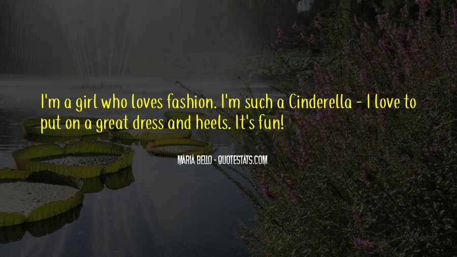 Quotes About Fashion And Heels #197955