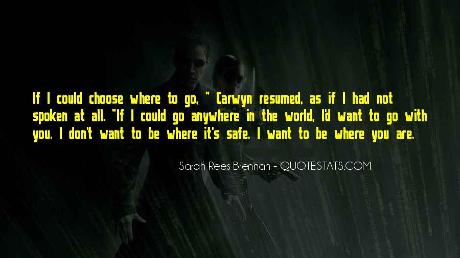 I'd Choose You Quotes #534248