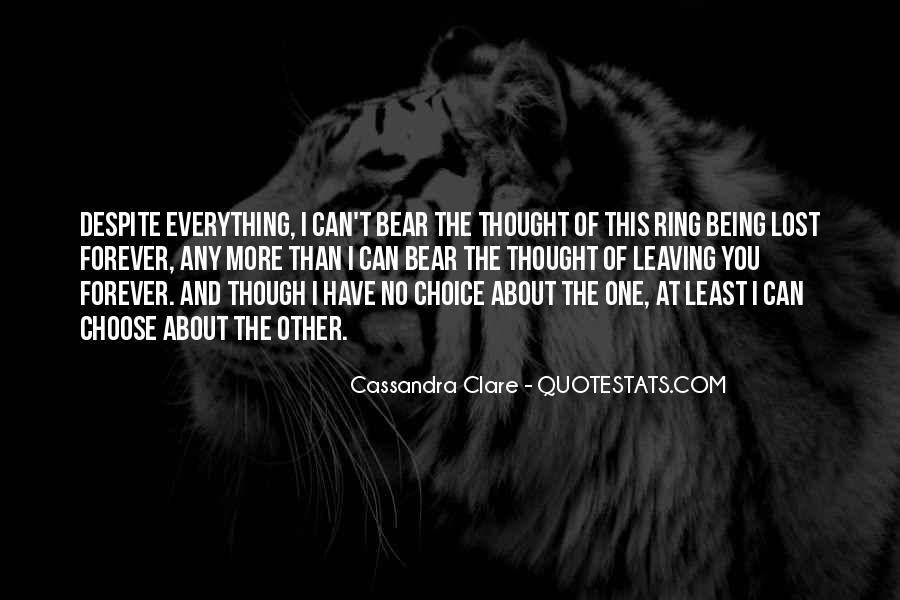 I'd Choose You Quotes #78153