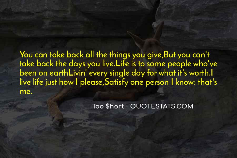 I'd Give It All For You Quotes #1145979