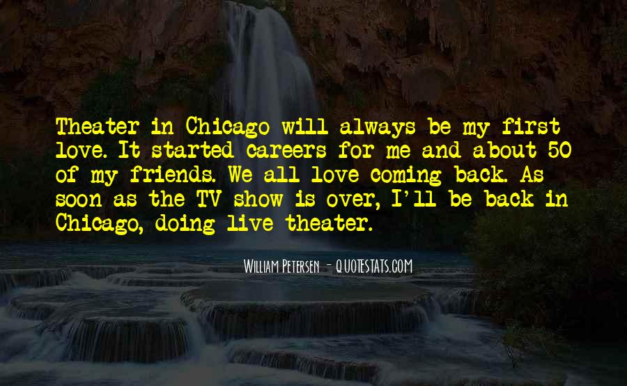I'll Be Back Quotes #207644