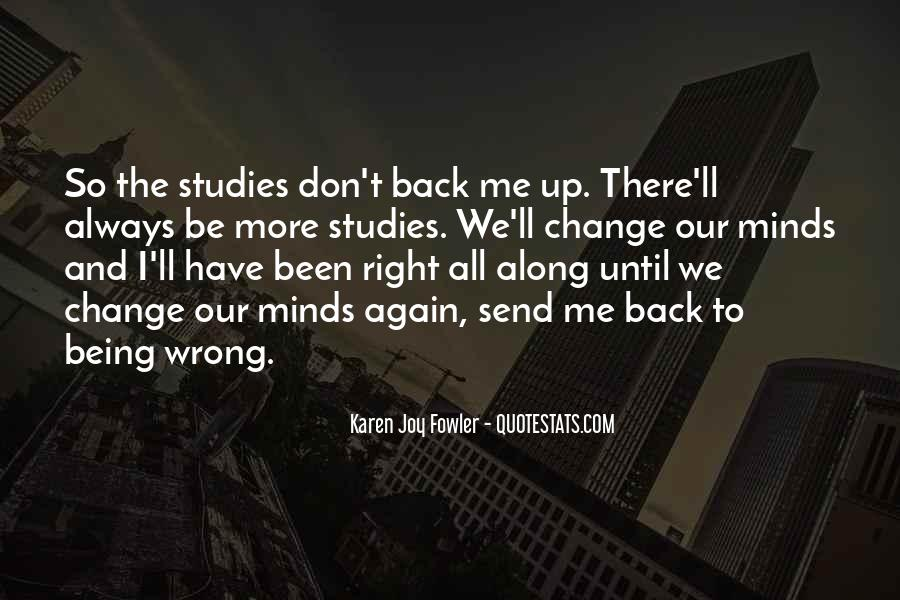 I'll Be Back Quotes #27939