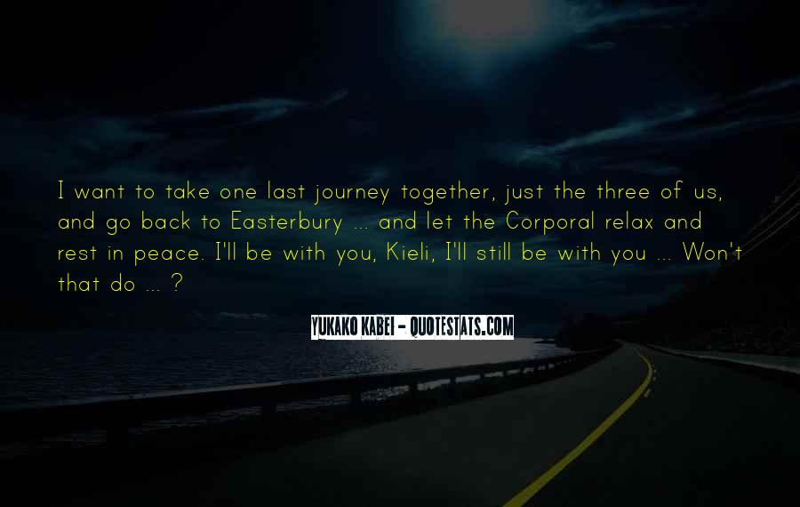 I'll Be Back Quotes #386220