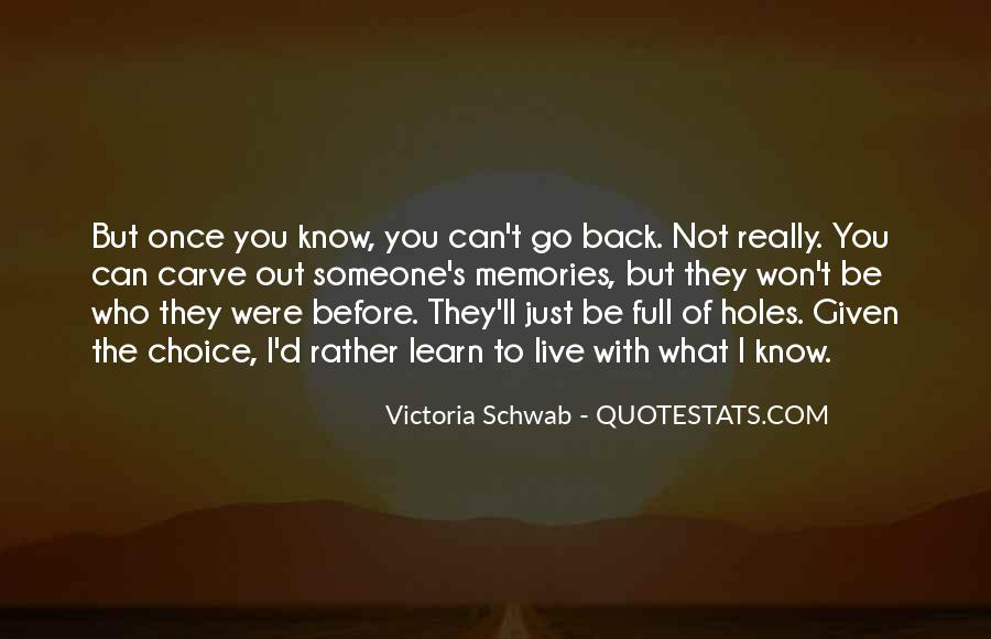 I'll Be Back Quotes #403169