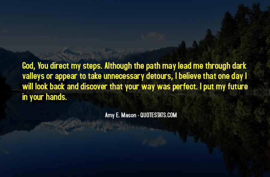 I'll Lead The Way Quotes #16039