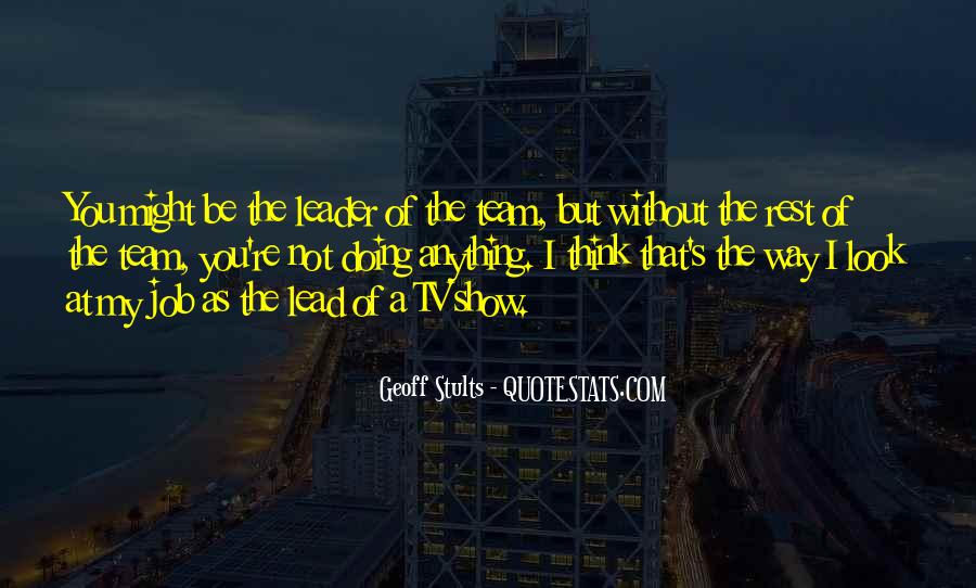 I'll Lead The Way Quotes #908025