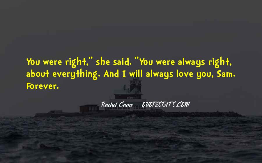 I'll Love You Forever Quotes #138022