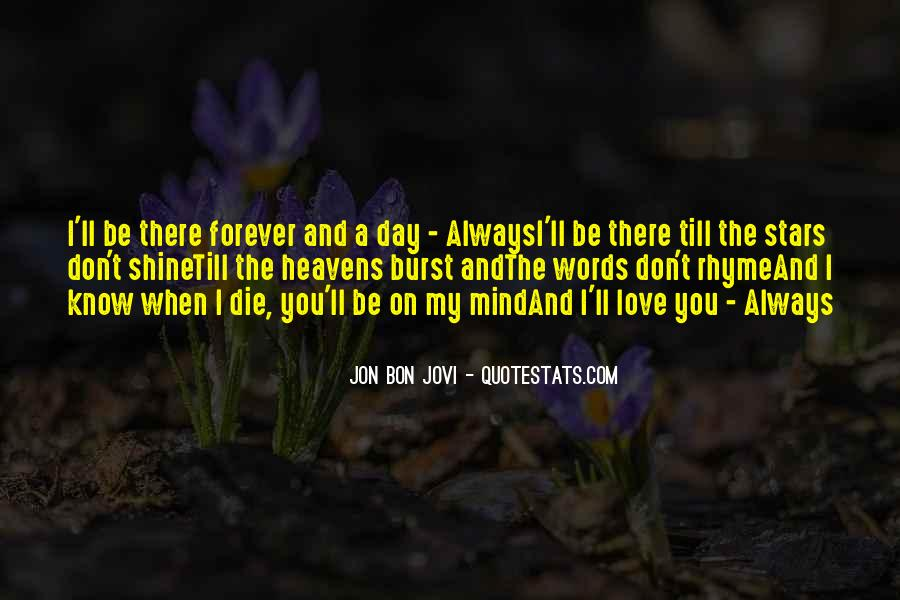 I'll Love You Forever Quotes #1741096