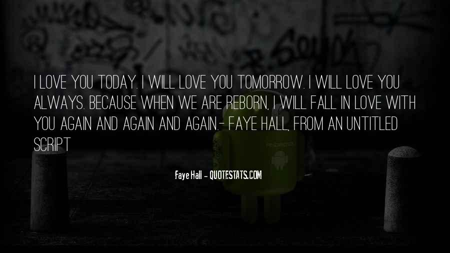 I'll Love You Forever Quotes #3379