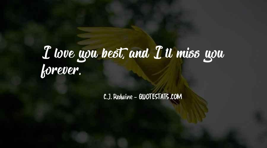 I'll Love You Forever Quotes #504795