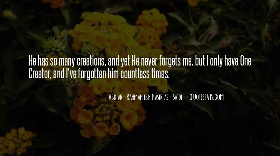 I'll Never Forget Him Quotes #1572961