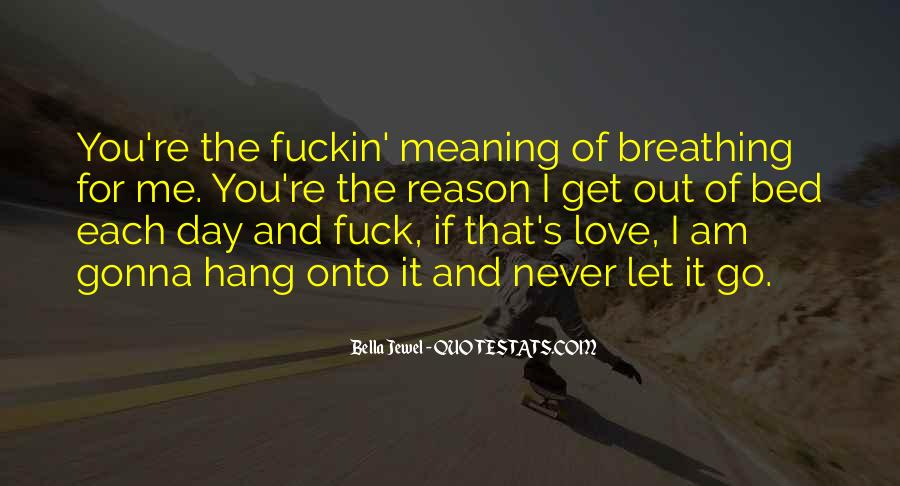 I'll Never Let Go Quotes #161150