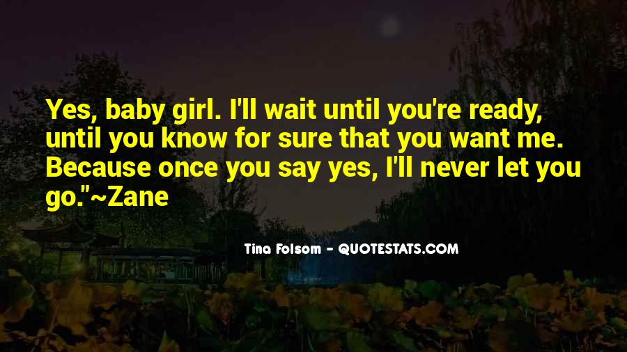 I'll Never Let Go Quotes #62548