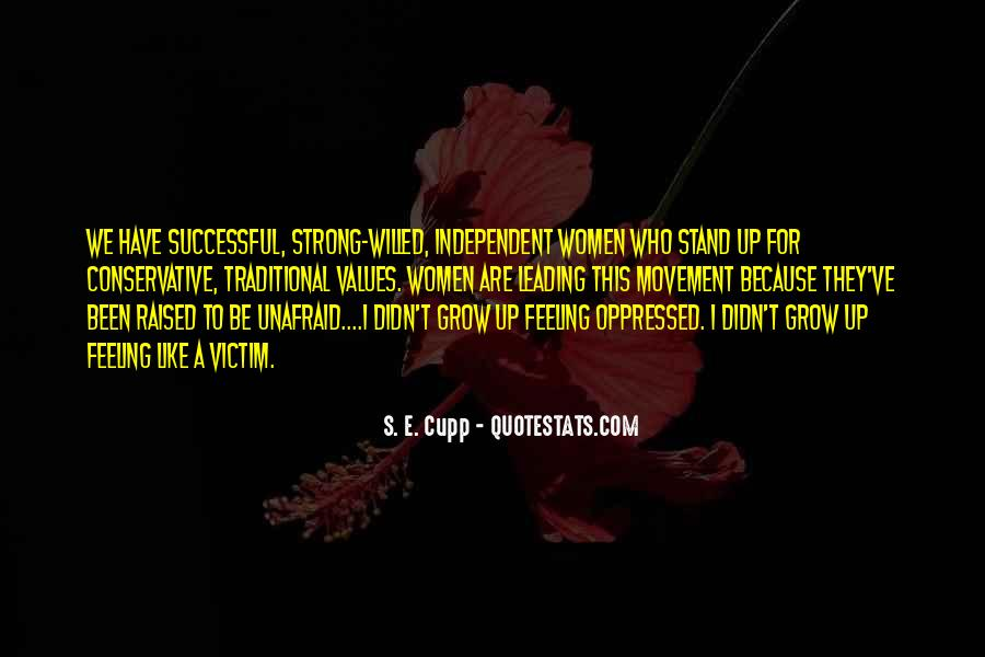 I'll Stand Strong Quotes #1053178