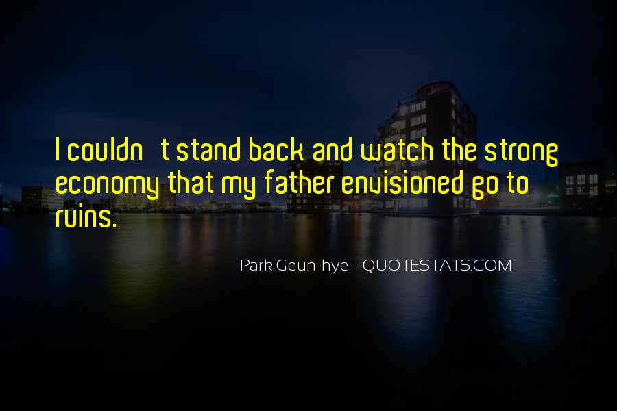 I'll Stand Strong Quotes #1199900