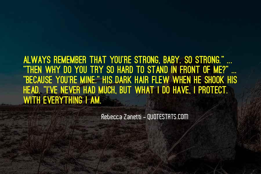 I'll Stand Strong Quotes #1419204