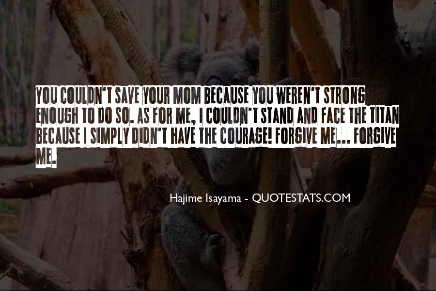 I'll Stand Strong Quotes #1591207