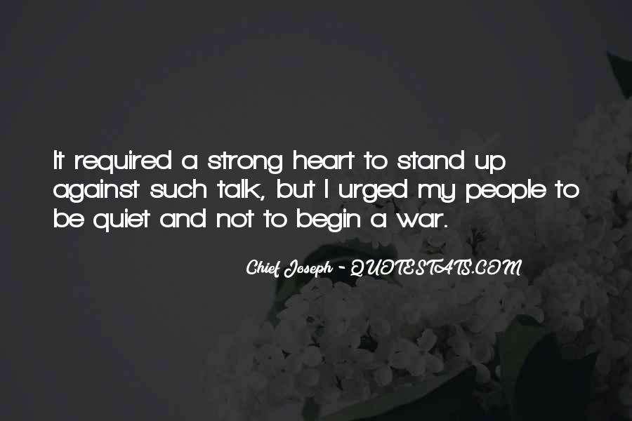 I'll Stand Strong Quotes #1643923