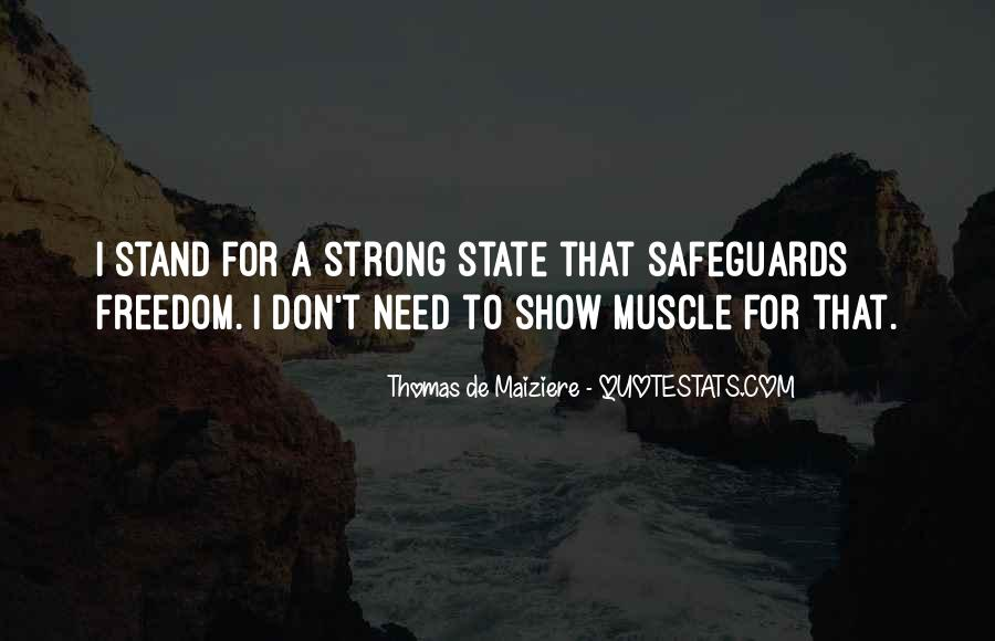 I'll Stand Strong Quotes #1862269