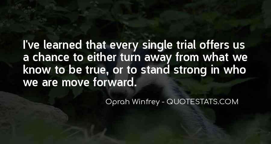 I'll Stand Strong Quotes #1874401