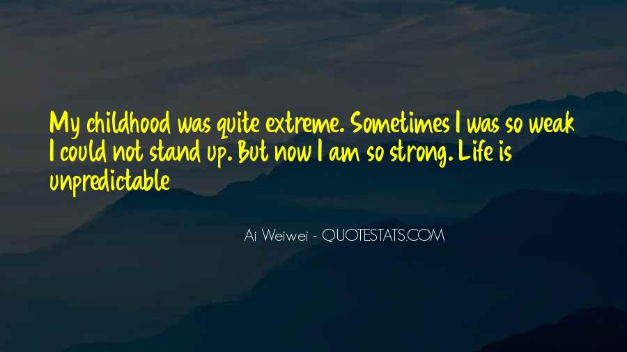 I'll Stand Strong Quotes #257496