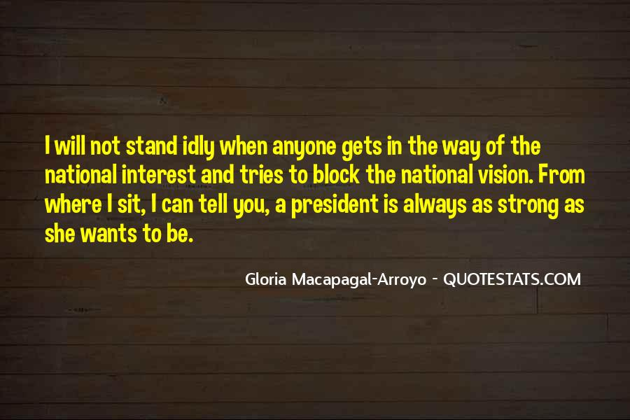 I'll Stand Strong Quotes #470202