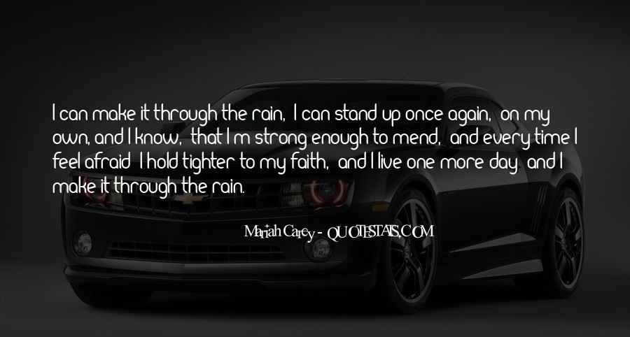 I'll Stand Strong Quotes #635091