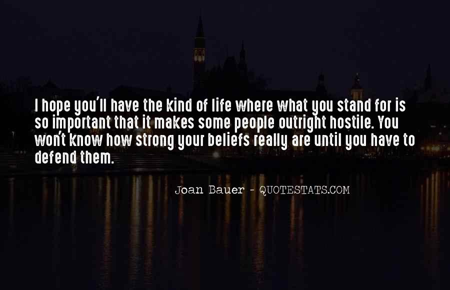 I'll Stand Strong Quotes #654187