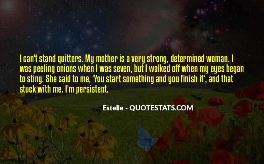 I'll Stand Strong Quotes #778118