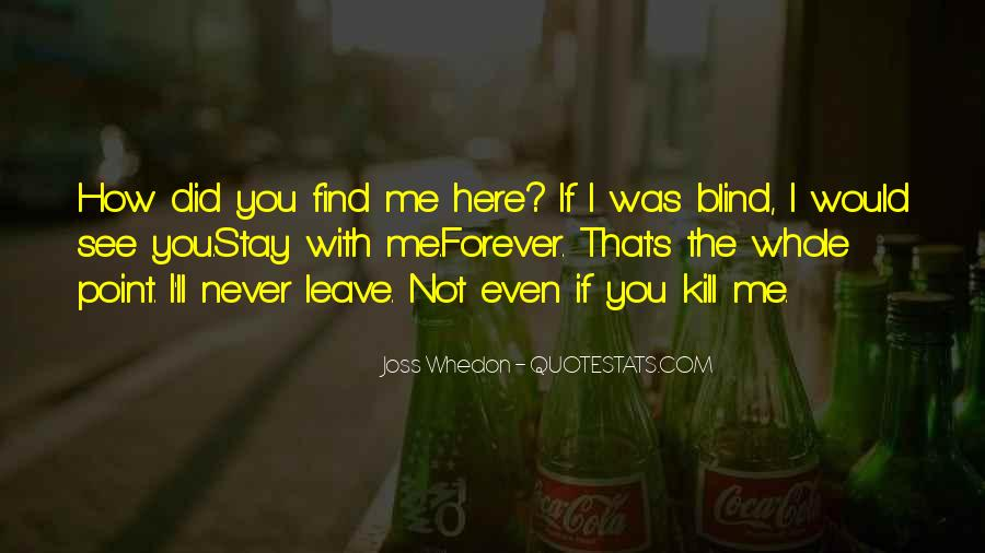 I'll Stay With You Quotes #1210951