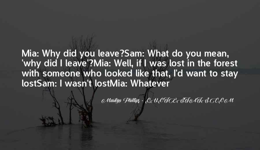 I'll Stay With You Quotes #58414