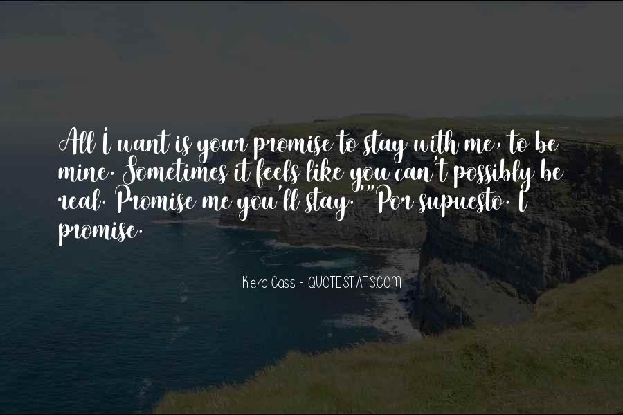 I'll Stay With You Quotes #895378