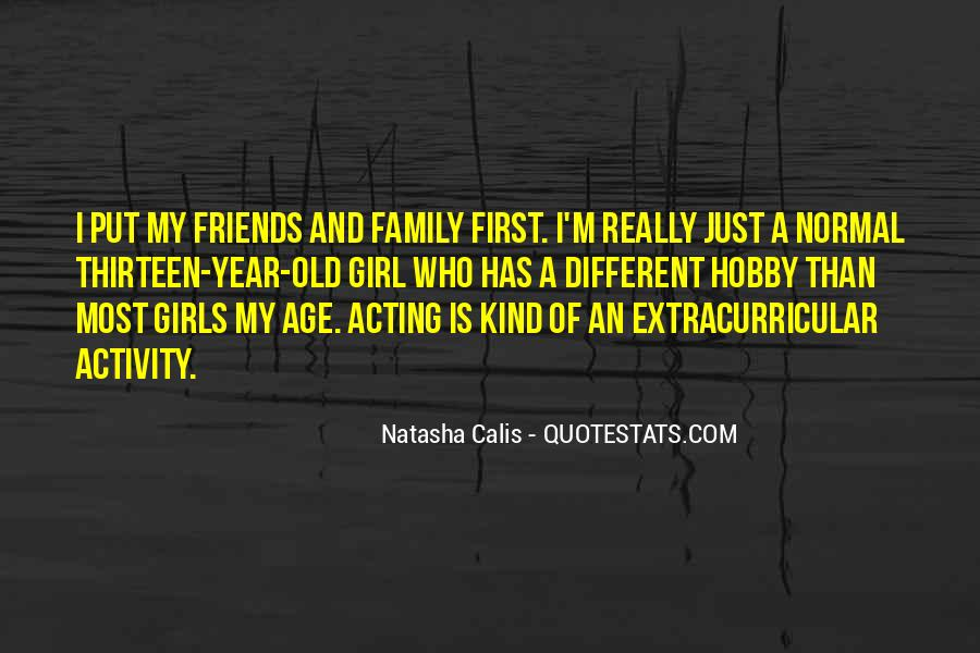 I'm A Different Kind Of Girl Quotes #133596