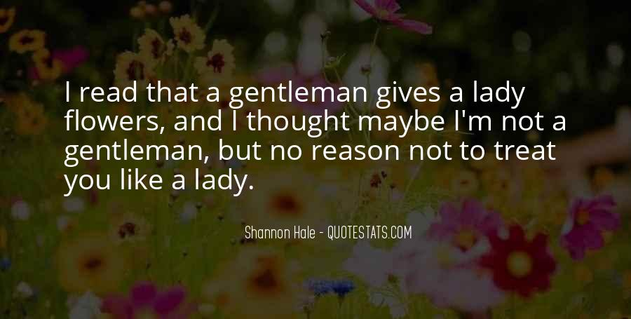 I'm A Lady But Quotes #1013437