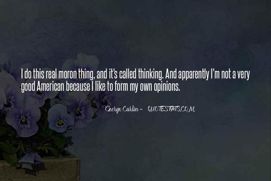 I'm A Moron Quotes #87143