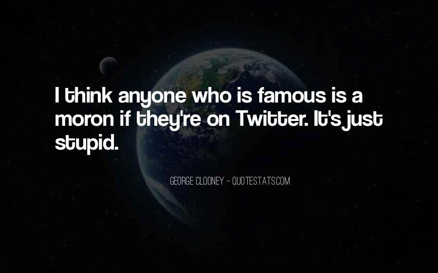 I'm A Moron Quotes #947773