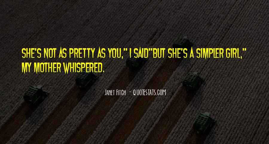 I'm A Pretty Girl Quotes #673112