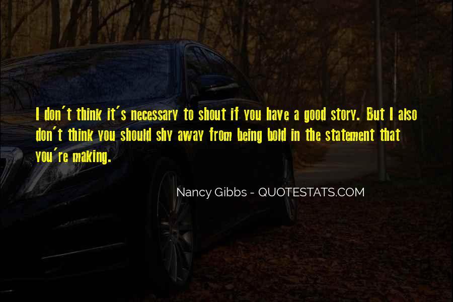I'm Bold Quotes #311611