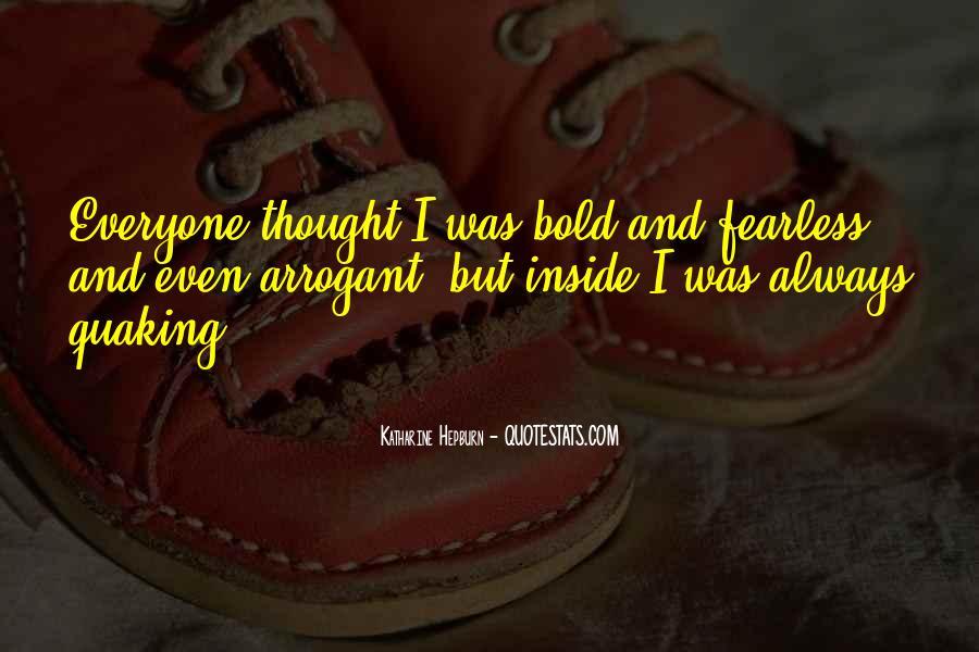 I'm Bold Quotes #66709