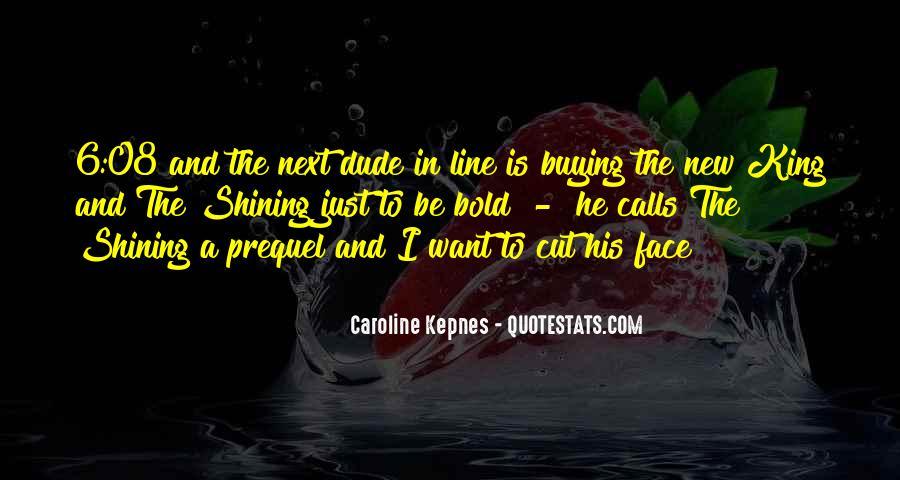 I'm Bold Quotes #73081