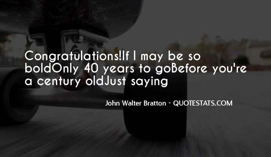 I'm Bold Quotes #7706