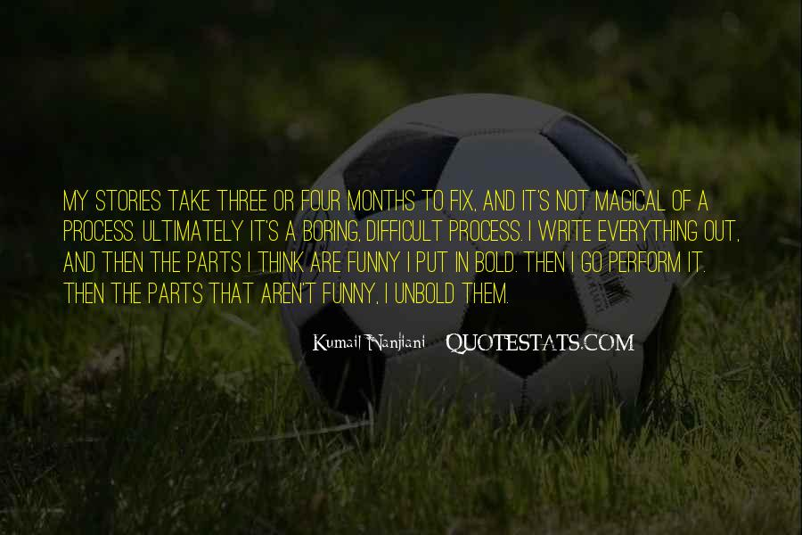 I'm Bold Quotes #85875