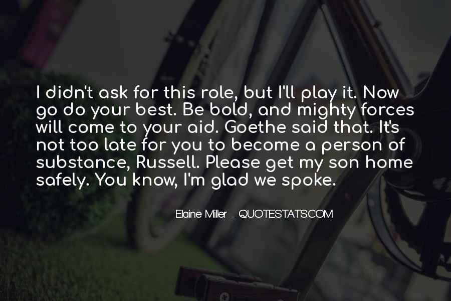 I'm Bold Quotes #932716