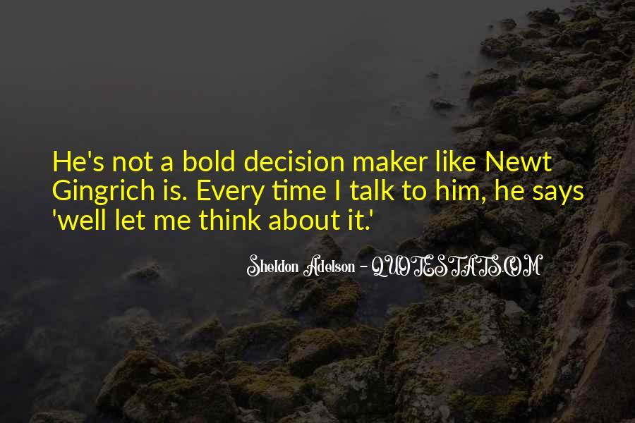 I'm Bold Quotes #97141
