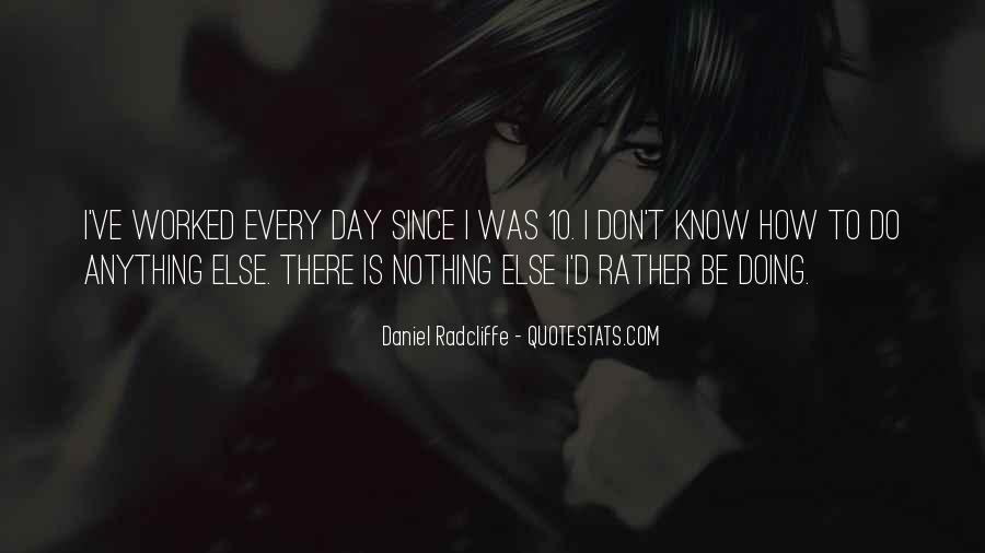 I'm Doing Nothing Quotes #4153