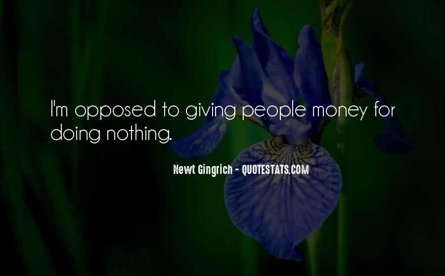 I'm Doing Nothing Quotes #65411