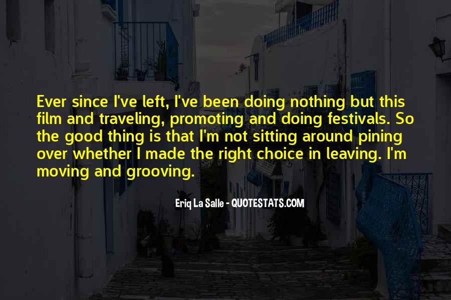 I'm Doing Nothing Quotes #8860